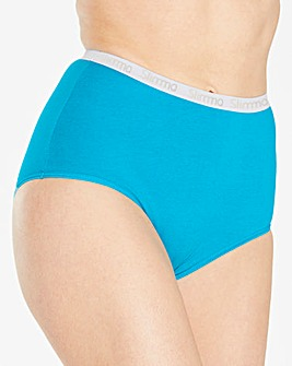 4 Pack Slimma Full Fit Brights Briefs