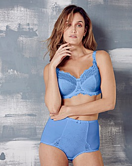 Full Cup Wired Cornflower Blue Bra