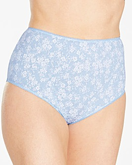 10 Pack Full Fit Floral Briefs