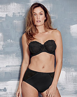 Florence Multiway Wired Black Bra