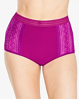 3 Pack Lace Full Fit Brights Briefs