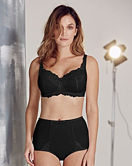 Ruby Full Cup Non Wired Black Bra