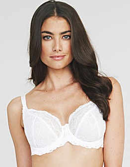 Lace Non Padded Balcony Bra