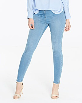 Sophia Bleachwash Jeggings Short