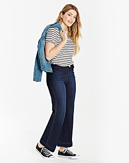 Pixie Wide Leg Jeans Short