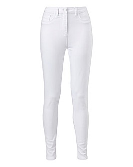 Sophia White Jeggings Long