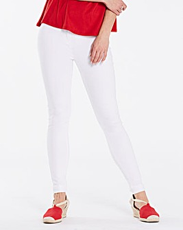 Sophia White Jeggings Short