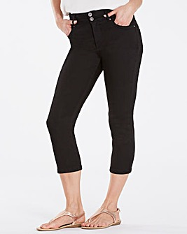 Black Shape & Sculpt Crop Jeans