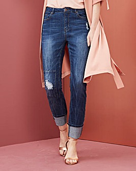 Jade Distressed Boyfriend Jeans
