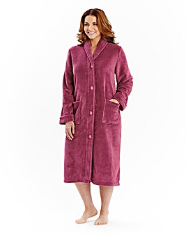 Pretty Secrets Fleece Button Gown 42in