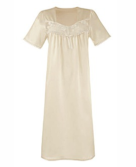 Pretty Secrets Satin Nightdress 48""