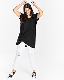 Black Tuck Side Tunic