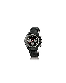 ToyWatch Ceramic Chronograph Black