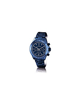 ToyWatch Metallic Blue Chronograph Watch