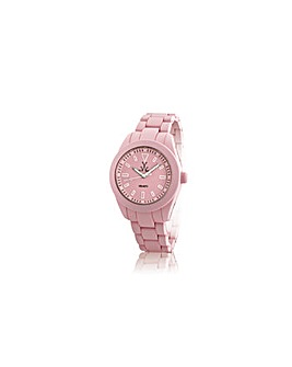 ToyWatch Velvety Watch in Baby Pink