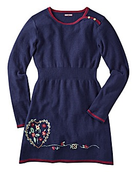 Joe Browns Girls Fun Sweater Dress