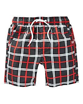KD Boys Check Swim Shorts