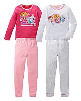 Pack of Two Paw Patrol Pyjamas