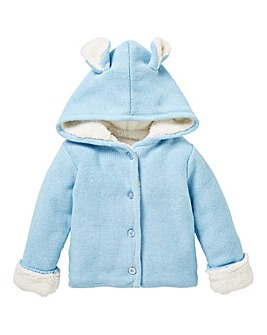 KD Baby Fleece Lined Cardigan
