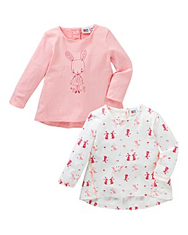 KD Baby Girl Pack of Two Tops