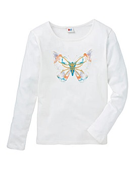 KD Girls Butterfly T-Shirt