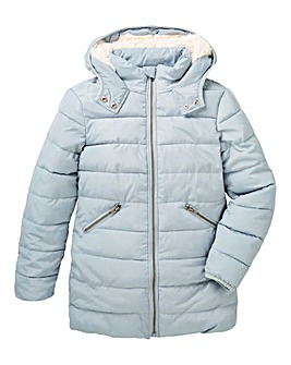 KD Girls Hooded Winter Coat