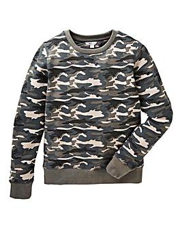 KD Boys Camouflage Sweatshirt
