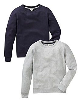 KD Boys Pack of Two Sweatshirts