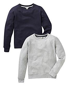 KD Boys Pack of Two Sweatshirts