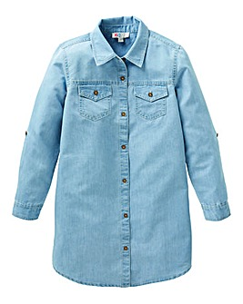 KD Girls Denim Dress
