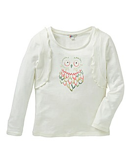 KD Girls Owl T-Shirt