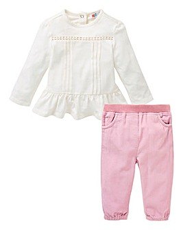 KD Baby Girl Top and Trouser Set