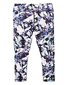 KD Active Girls Performance Print Capri