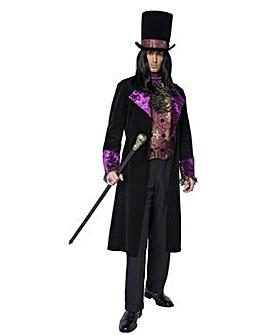 Mens Gothic Count Costume