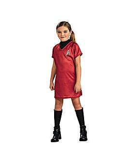 Girls Star Trek Uhura Costume