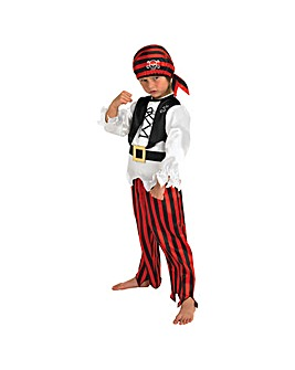 Child Raggy Pirate Boy Costume