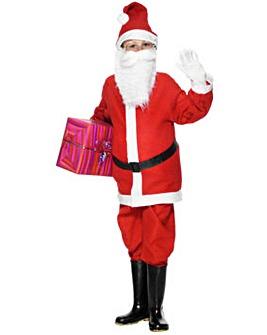 Christmas Santa Boy Costume