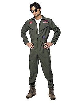 Mens Top Gun Jumpsuit Costume