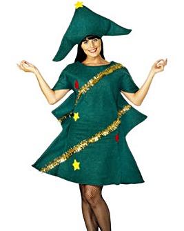 Ladies Christmas Tree Costume