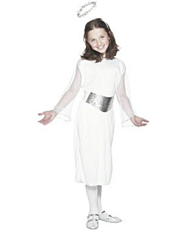 Girls Christmas Angel Costume