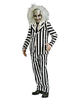 Mens Beetlejuice Adult Costume