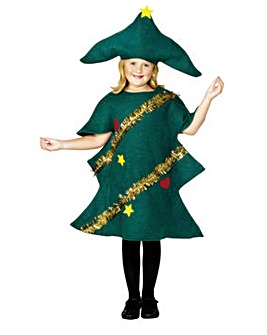 Childs Christmas Tree Costume