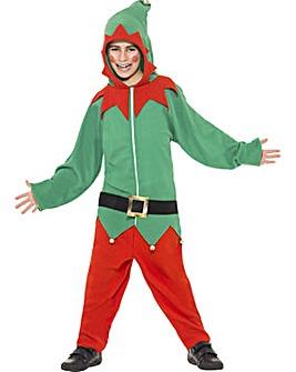 Childrens Christmas Elf Onesie Costume