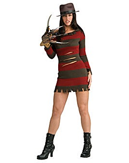 Ladies Miss Kreuger Costume