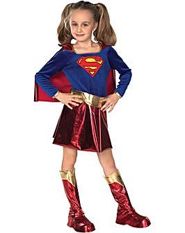 Girls Deluxe Supergirl Costume