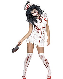 Ladies Zombie Nurse Costume