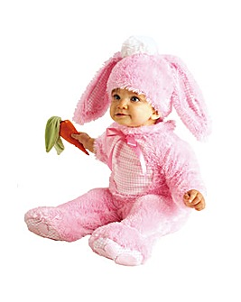 Girls Pink Easter Bunny Costume