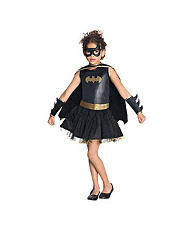 Girls Batgirl Tutu Dress Costume