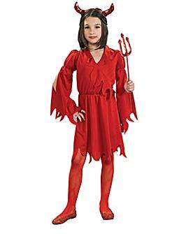 Girls Devil Girl Costume