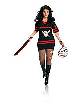 Friday 13th Miss Voorhees Plus Size